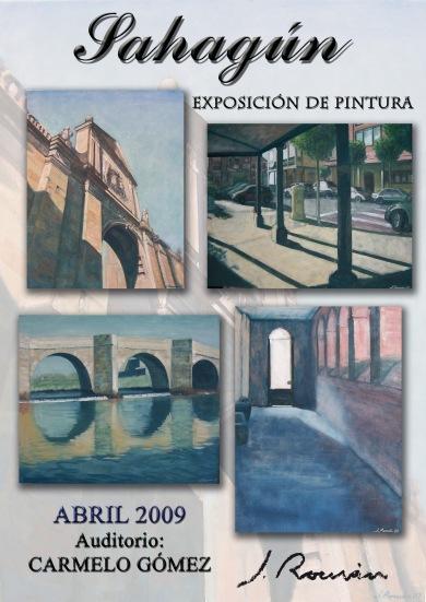 Cartel Sahagún. Abril 2009