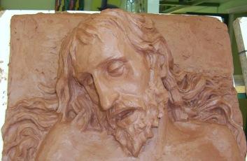 Cristo Yacente de Gregorio Fernández II. Barro 2005