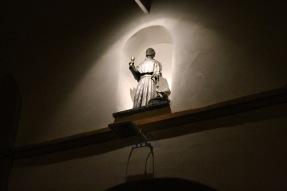 San Juan de Sahagún y el milagro del pozo. Bronce 95 cm 2008