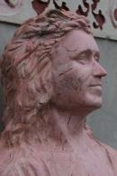 Charo Román Sanz IV. Estuco-mármol. 2014